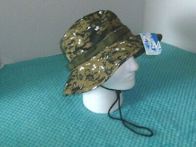 Military Jungle Style Camo Hat -Tactical - Fishing - Hunting - Garden #RM HT319