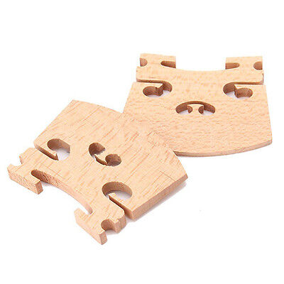 3Pcs 4/4 Full Size Violin / Fiddle Bridge Ma HJFBDC