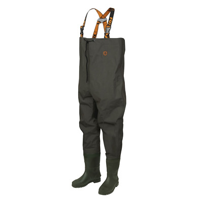 Fox Lightweight Green Chest Waders for Carp Fishing All Sizes New