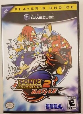 Sonic Adventure 2: Battle (Players Choice) Gamecube *Brand New/Sealed*