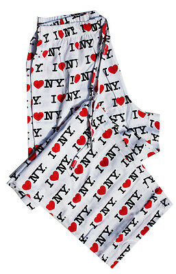 Creative Apparel Concepts Toast and Jammies I Love New York Pajama Bottoms New