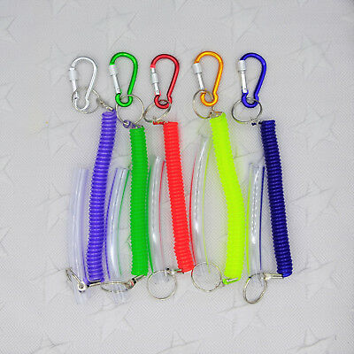 Special Needs PACK OF 3 Chew Tube Spiral Key Chains Sensory ADHD Autism