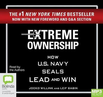 Extreme Ownership: How U.S. Navy SEALs Lead and Win by Jocko Willink Free Shippi