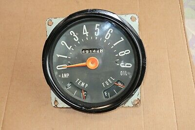 early cj5 jeep speedometer gauge cluster works 1957 -1969? rat hot rod  willys