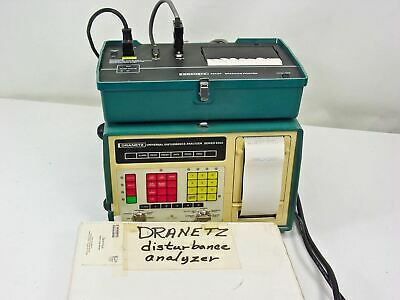 Dranetz 626A Universal Disturbance Analyzer with Printer