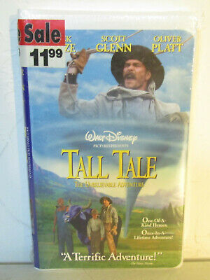 Tall Tale The Unbelievable Adventure VHS 1996 Disney Clamshell New Sealed
