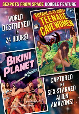 Sexpots From Space Double Feature: Voyage To The Planet of Teenage NEW DVD