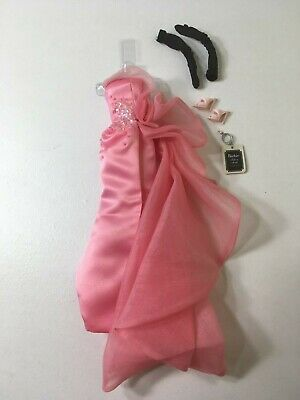 """Barbie Silkstone """"Glam Gown"""" Outfit Only, Newly De-Boxed"""