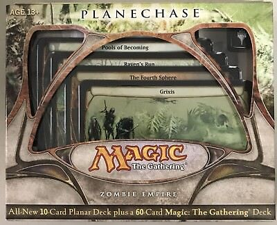 Magic the Gathering MTG Planechase 2009 Zombie Empire Factory Sealed Deck
