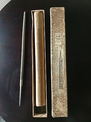 """4/"""" Round smooth File NOS Kearney /& Foot Co"""