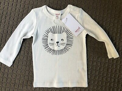 Seed Baby Long Sleeve Top. Size 00. NWT