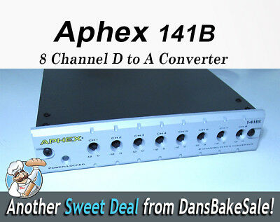 Aphex 141B   8 Channel D to A Converter - New in open box!