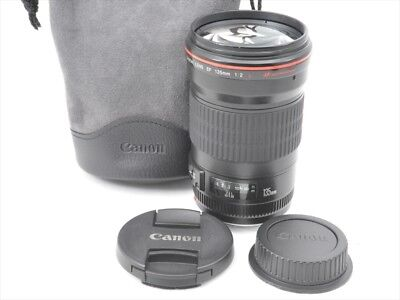 Excellent! Canon EF 135mm f/2L USM - 1 year warranty