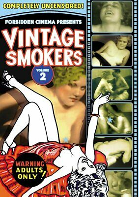 Forbidden Cinema Presents: Vintage Smokers From the 1920s, 30s and 40s: NEW DVD
