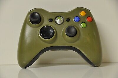 Official Microsoft xbox 360 Wireless Controller Halo 3 Edition