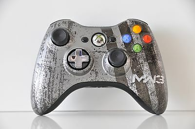 Official Microsoft xbox 360 Wireless Controller MW3 Special Edition
