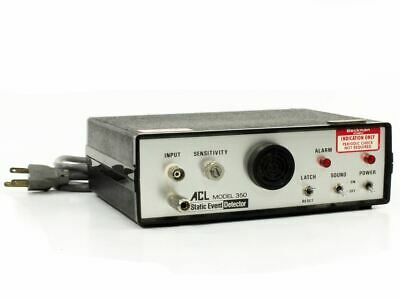 ACL Model 350 Static Event Detector