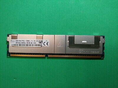Hynix 32GB 4Rx4 DDR3 PC3L-12800L ECC REG Registered Server RAM