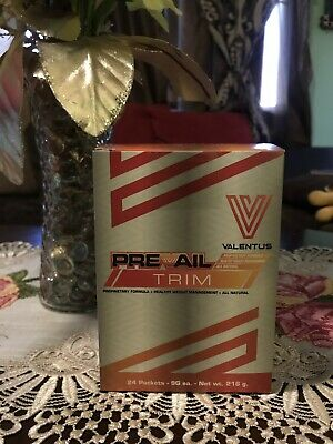 Weight Management Free Shipping 1 Box New Sealed Valentus Prevail Trim 24 Packets Weight Loss