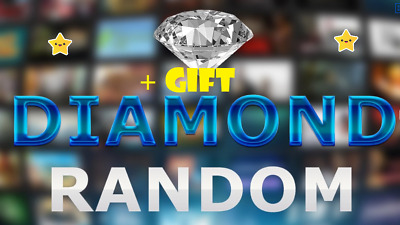 5 Diamond Random Steam CD Keys value 79,9$ + gift