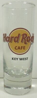 KEY WEST Florida HARD ROCK CAFE Double TALL Shot Glass