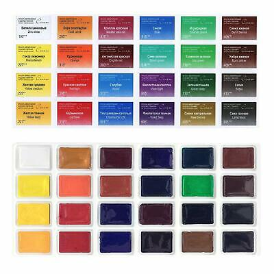Sonnet Watercolour Paint Set 24 Whole Pans Rich Pigments Dries Quickly