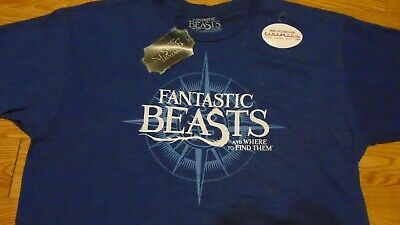 NWT Fantastic Beast XL T-Shirt TEE Crimes Grindelwald Harry Potter Cinemark NEW