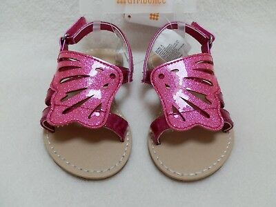 GYMBOREE Unicorn Garden Pink Gummy Sandals Shoes Toddler Sz 3 4 5 6  8 9 10 NEW