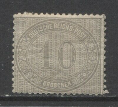 1872 Germany  10 Groschen early issue  mint*,  $ 94.00