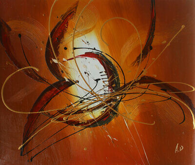 Hand painted Abstract Oil Painting on Canvas Modern Wall Art Decor Free shipping