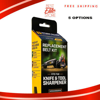 Work Sharp Knife Sharpener Belts And Tool Replacement Kit Fine Sharpening System