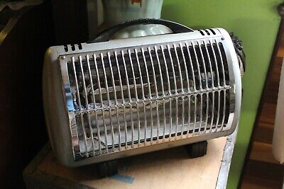 Vintage Speedie heater Two Bar 1960s Retro Radiant Electric Heater