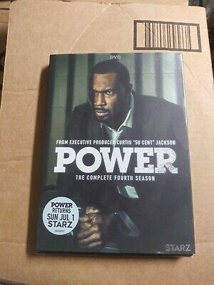 POWER THE COMPLETE FOURTH SEASON DVD New With Slip Cover FREE US SHIPPING