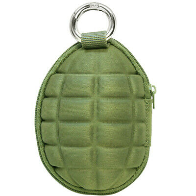Condor Tactical Grenade Pouch Key Ring Travel Hiking Security Carry Pack Black