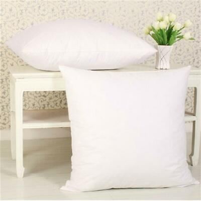 Pillow Core Cushion Pads Inner Insert Filler Scatter Duck Feather Microfibre