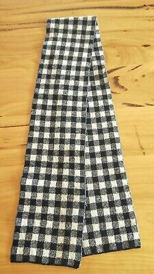 Country Road Kids Navy Checkers Neck Scarve Scarf 100% WOOL (EUC!)