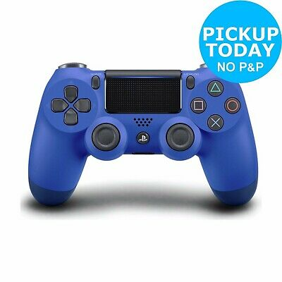 PS4 DualShock 4 V2 Wireless Controller - Wave Blue.