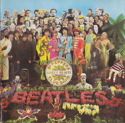 The Beatles - Sgt Pepper's Lonely Hearts Club Band (CD)