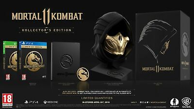 Mortal Kombat 11 Kollector's Edition Xbox One New English Collectors Collector's