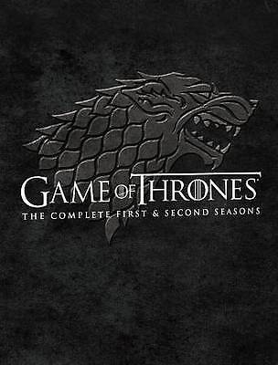GAME OF THRONES Complete First & Second Seasons (BLU-RAY) Brand NEW & Sealed!!!!