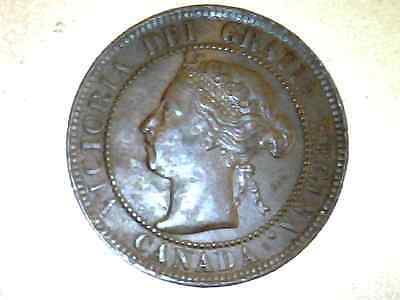 1893 Canada  Large Cent   Xf       #Xv241