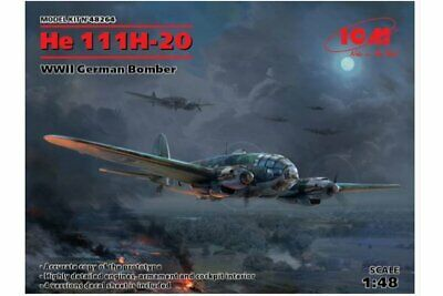 ICM 48264 1/48 He 111H-20 WWII German Bomber
