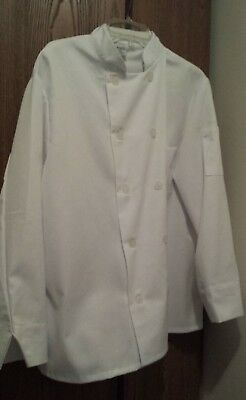 Long Sleeve Chef Jacket/Shirt By Chef Trends, 42/M