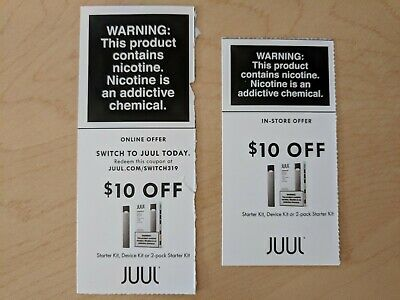 2x Ju ul Jewel Jul Coupons - Save $20 In Store and Online - Exp 6/30/19