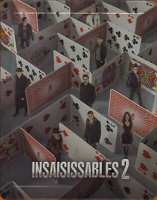 Insaisissables 2 (Blu-ray + DVD Steelbook)