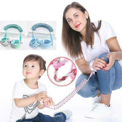 Kids Safety Harness Children Leash Wrist Link Anti-lost Traction Rope GFEQ