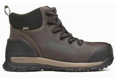 18ad5cd1f8d BOGS MEN'S FOUNDATION Leather Low Top Work Boots Brown 72235-200 ...