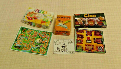 Dollhouse Miniature PERFECTION Game Box  in 1:12 Scale