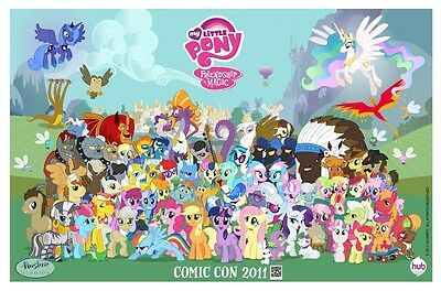 Affiches My Little Pony Princesse Twilight Sparkle Applejack Fluttershy Kino #27
