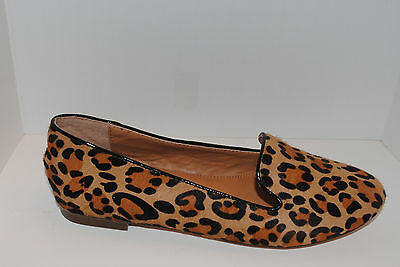 07b48f6bfe6 J CREW FACTORY Calf Hair Loafers Leopard 7 New Retail  118 -  49.99 ...